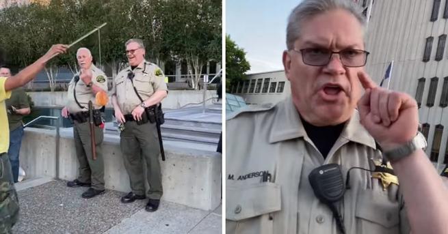 【悲報】警察にドーナツを差し出し「一口食べたい?」と聞いただけの少年が逮捕される アメリカ