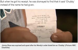 客の名前を無視、レシートに「デブ」と印字したレストラン従業員が解雇 アメリカ