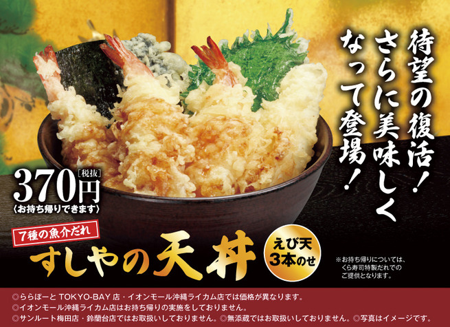 【朗報】無添くら寿司、このレベルの天丼をわずか370円で提供