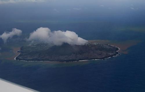 【画像】西之島、とんでもないことになってる模様