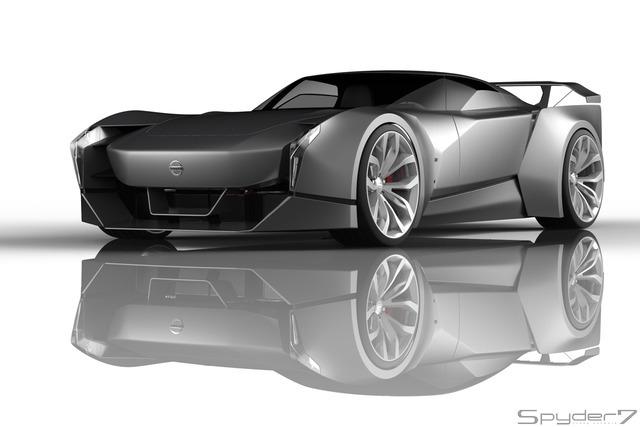 これが「日産 GT-R」次期型【予想CG】