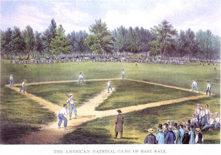 19th Century Baseball - Currier & Ives