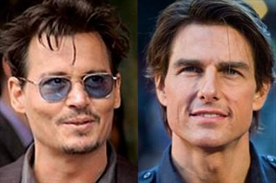 トム・クルーズ(56)とジョニー・デップ(55)はどこで差が開いたのか