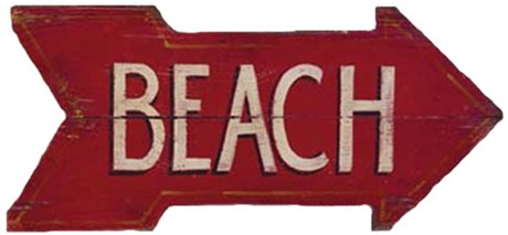 Sign_Beach_RedArrowRight