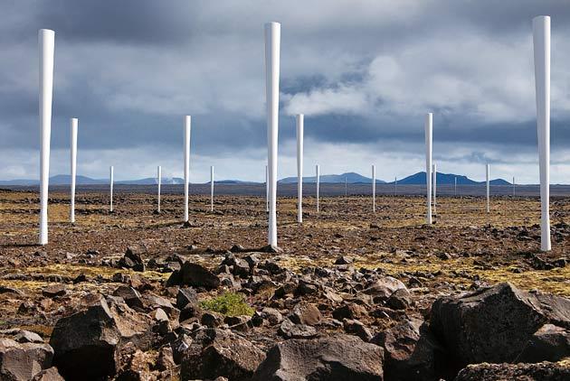 スペインの最新鋭風力発電所の写真がスゴイ