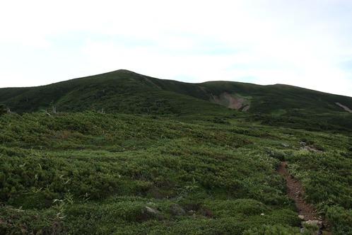 0654北ノ俣岳へ