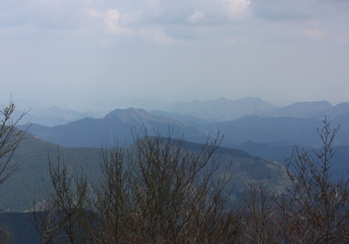 6300山頂からの眺め