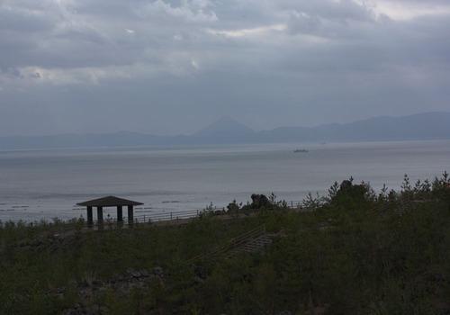 桜島より鹿児島湾