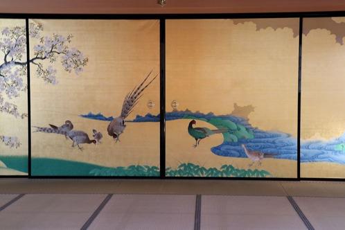 IMG_7823桜花雉子図S