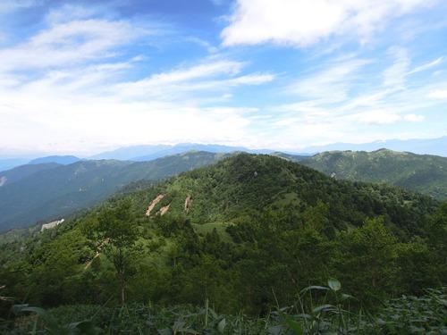 9662大判山より振り返る