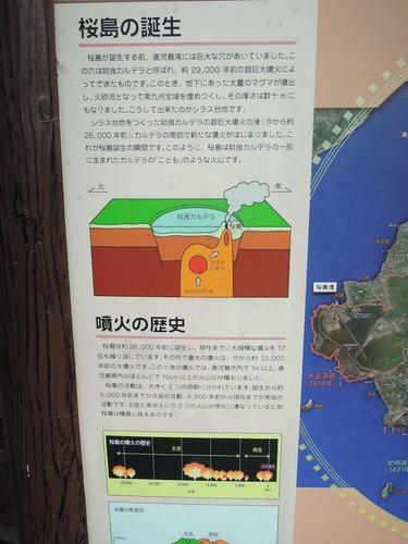 桜島誕生説明