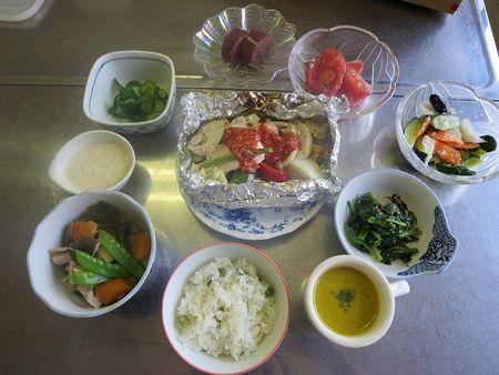 教室の料理