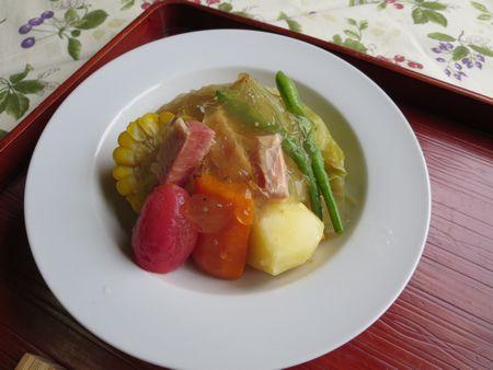 夏野菜ポトフ