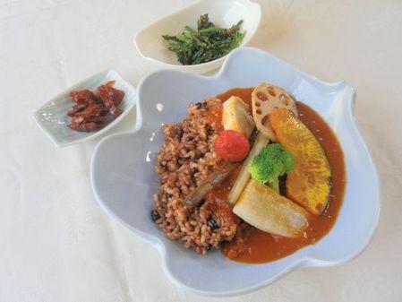 新 野菜カレー