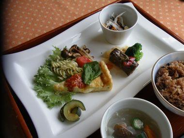 豆腐キッシュ