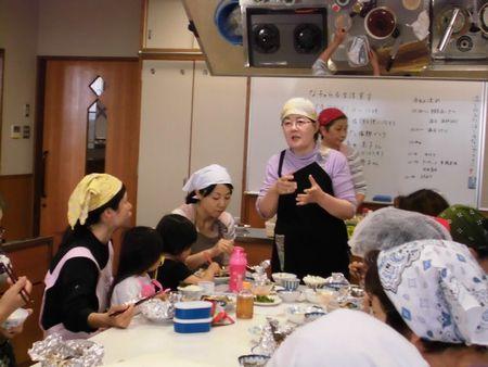 料理教室様子