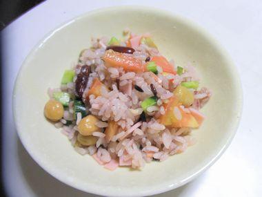 雑穀サラダライス