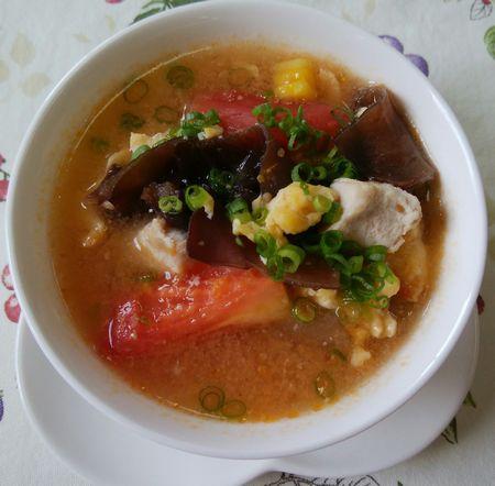 冬瓜ときくらげスープ