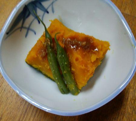 かぼちゃの塩麹蒸し煮4