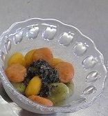 野菜甘酒の三色団子