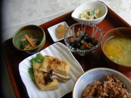 1月20日黒豆の五目煮ランチ