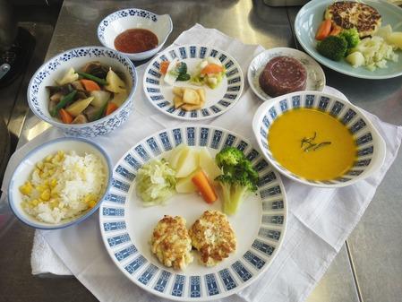 塩麹豆腐のハンバーグ