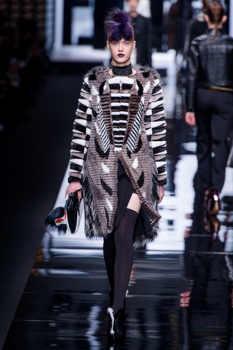 IN PICTURES: Fendi A/W '14 collection