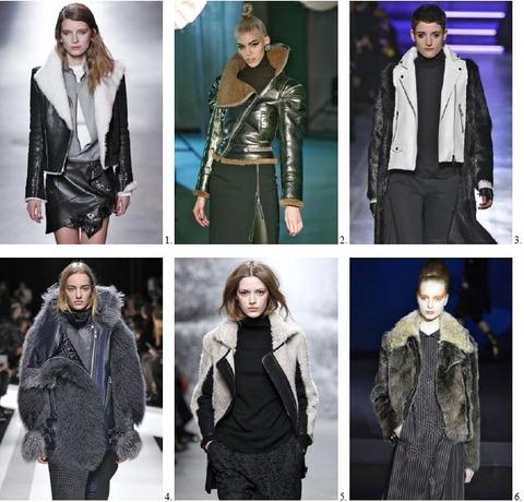 AUTUMN/WINTER 2014-15 Paris Trend 3 – Biker Babes