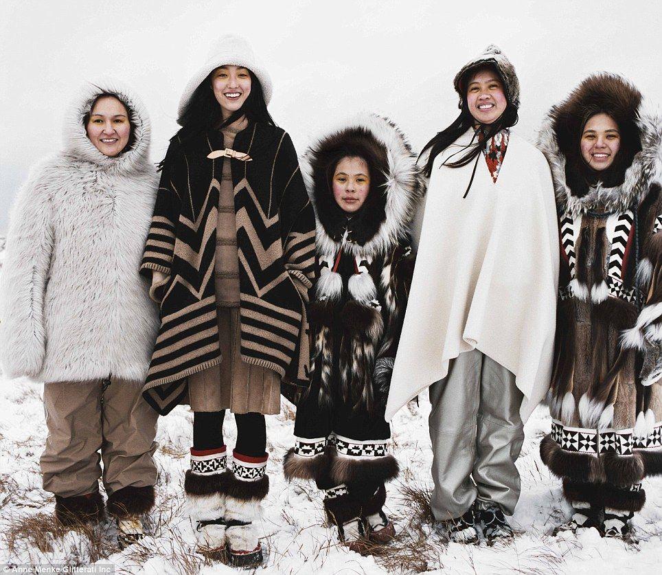 イヌイットの服 : 毛皮FUR