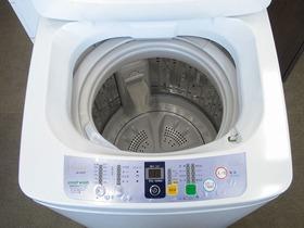 全自動洗濯機・JW-K42F-W・中古