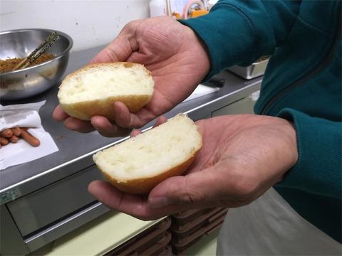 クリームパン ぐるぐる 製造2