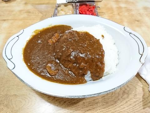 常盤仙食堂:①カレーライス600円170116