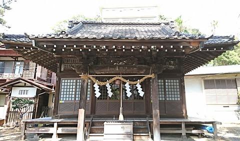 熱海③:23階段上の社殿190925