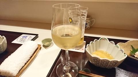 季京:④サービス白ワイン191105