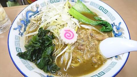 どさん子:⑫豚すじカレー麺800円190420