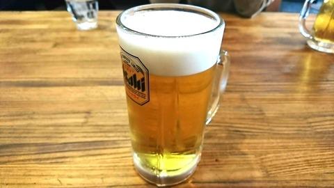 ちゃんこ場:②生ビール550円191220
