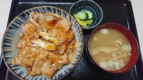 昇龍:⑧豚焼肉丼680円190905