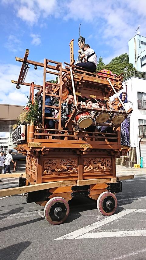石岡山車30富田町お囃子190914