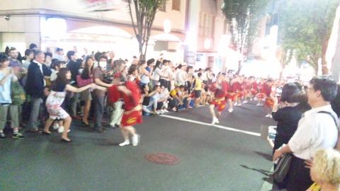 神楽坂阿波踊り80寳船160729