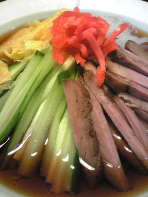 中華料理鳳来:②冷しそばB770円拡大100913