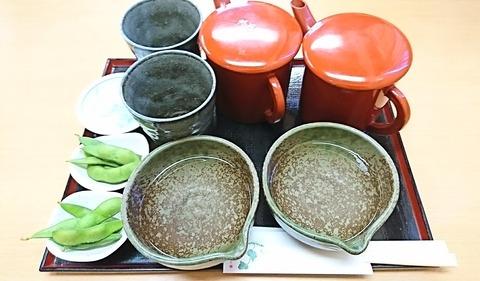 近江家:②蕎麦湯割り450二人前190928
