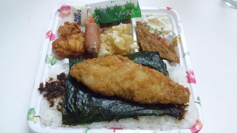 鬼っ子:①のり弁当350円全景110527