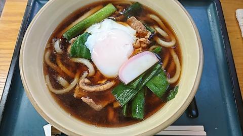 四ツ木製麺所:①鴨ネギ南蛮うどん800円171104