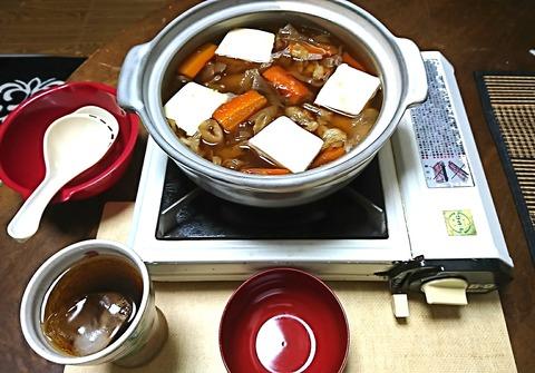 家ご飯15:①豆腐と野菜スープ鍋210115