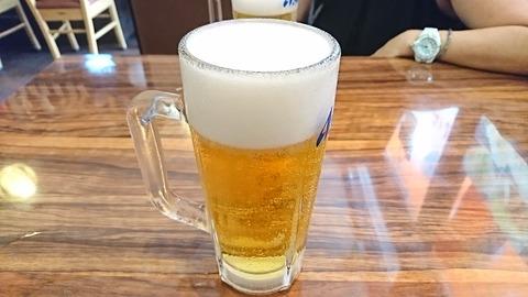 一粋家:②生ビール480円190829