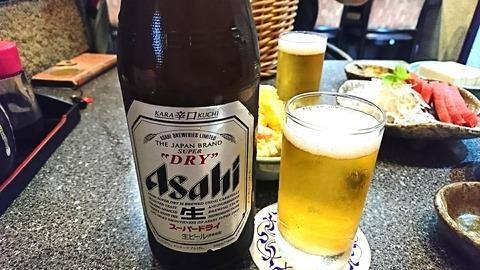 港や:②瓶ビール480円190824