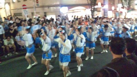 神楽坂阿波踊り13JCHO東京メディカルC連160729
