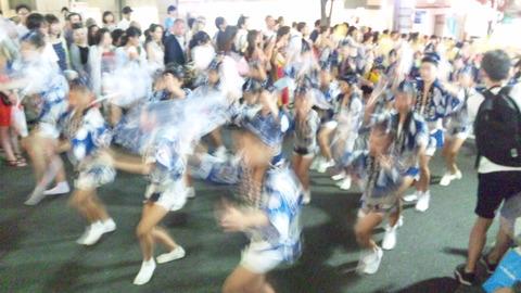 神楽坂阿波踊り59ひょっとこ連160729