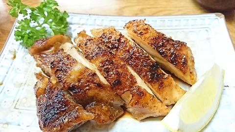 かねよ:⑤鶏炭火焼き900円190826