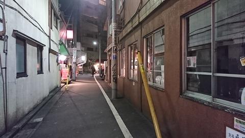 別亭鳥茶屋:店①見番横丁入口180209